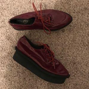 Cheap Monday platform shoes size 8
